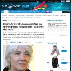 """Hardy, Jenifer et Lavoine chantent les grands poètes français pour """"La bande des mots"""""""