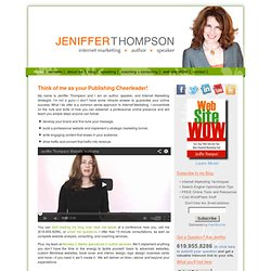 Jeniffer Thompson - Author Websites, Internet Marketing Consultant - home