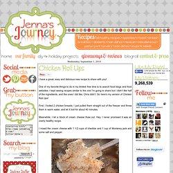 Jenna's Journey: Chicken Roll Ups