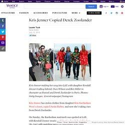 Kris Jenner Copied Derek Zoolander