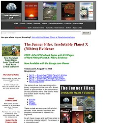 The Jenner Files: Irrefutable Planet X (Nibiru) Evidence