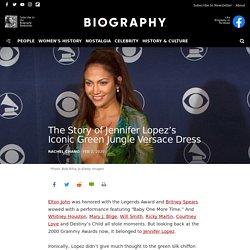 The Story of Jennifer Lopez's Iconic Green Jungle Versace Dress