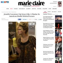 Jennifer Lawrence Lip Syncs Like A Maniac In American Hustle Deleted Scenes