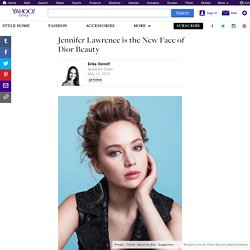 Jennifer Lawrence is the New Face of Dior Beauty