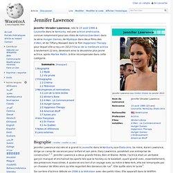 Jennifer Lawrence - 1990-