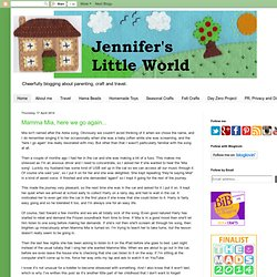 Jennifer's Little World blog - Parenting, craft and travel