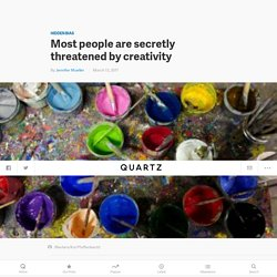 Jennifer Mueller's Creative Change: Most people are secretly threatened by creativity — Quartz