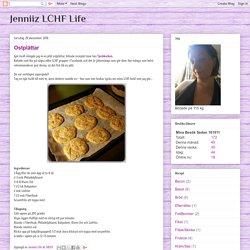 Jenniiz LCHF Life: Ostplättar