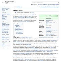 Jenny Aubry