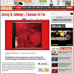 Jenny & Johnny : l'amour et l'or