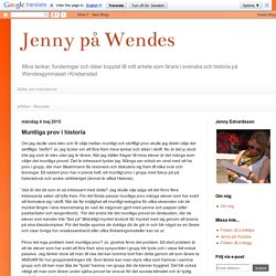 Jenny på Wendes: Muntliga prov i historia