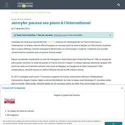 Jennyfer pousse ses pions à l'international