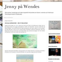 Jennys julkalender - den 2 december