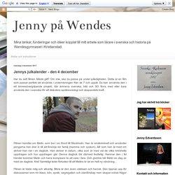 Jennys julkalender - den 4 december