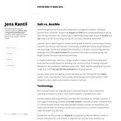 Jens Rantil's Hideout
