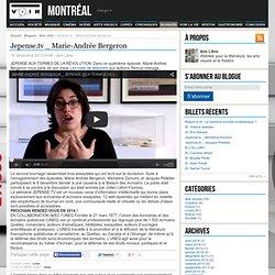 Jepense.tv _ Marie-Andrée Bergeron – Aire Libre