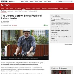 The Jeremy Corbyn Story: Profile of Labour's new leader