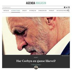 Har Jeremy Corbyn en sjanse likevel?
