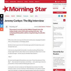 Jeremy Corbyn: The Big Interview