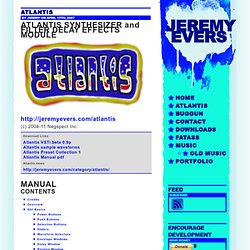 Jeremy Evers » Atlantis