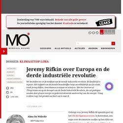 Jeremy Rifkin over Europa en de derde industriële revolutie