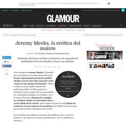 Jeremy Meeks, la erótica del malote