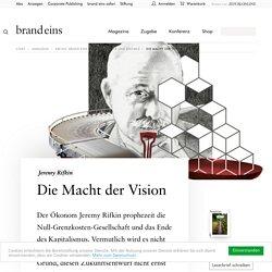 Jeremy Rifkin: Die Macht der Vision