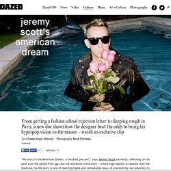 Jeremy Scott's American Dream