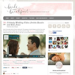 Jericho Rosales and Kim Jones Wedding Video