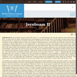 Jeroboam II