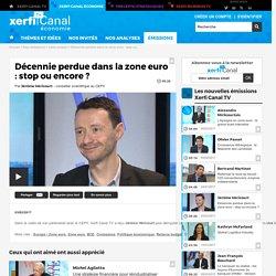 Jérôme Héricourt, CEPII - Décennie perdue dans la zone euro : stop ou encore ?