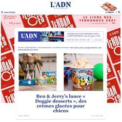 Ben & Jerry's lance des crèmes glacées pour chiens