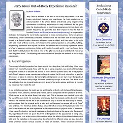 Jerry Gross - The Out-of-Body Experience