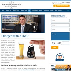 New Jersey DWI Attorney - DWI Accident Lawyer NJ