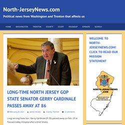 Long-time North Jersey GOP State Senator Gerry Cardinale Passes Away at 86
