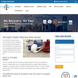 New Jersey Wrongful Death Attorney