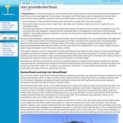 User:Jesrad/BunkerStead - Seasteading