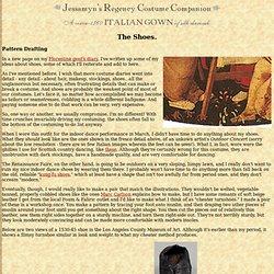 Jessamyn's Regency Costume Companion: Florentine gown