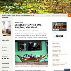 Jessica Mudditt's Blog – Stories from around the world