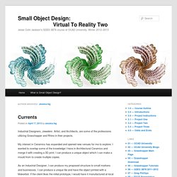 Small Object Design:                          Virtual To Reality Two