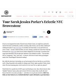 Sarah Jessica Parker Home - West Village Brownstone