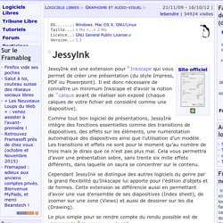 JessyInk - Graphisme et audio-visuel - Logiciels Libres