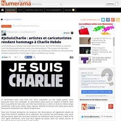 #JeSuisCharlie : artistes et caricaturistes rendent hommage à Charlie Hebdo