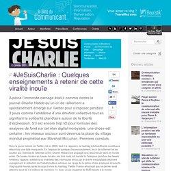 #JeSuisCharlie : Quelques enseignements à retenir de cette viralité inouïe - blogducommunicant