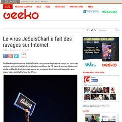 Le virus JeSuisCharlie fait des ravages sur Internet