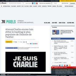 #JesuisCharlie encore loin des records sur Twitter