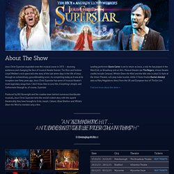 Jesus Christ Superstar – UK Tour