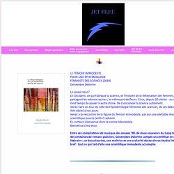 Jet bleu