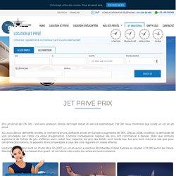 Les prix d'un Jet Privé ✈