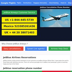 JetBlue Customer Service Phone Number & Official Site